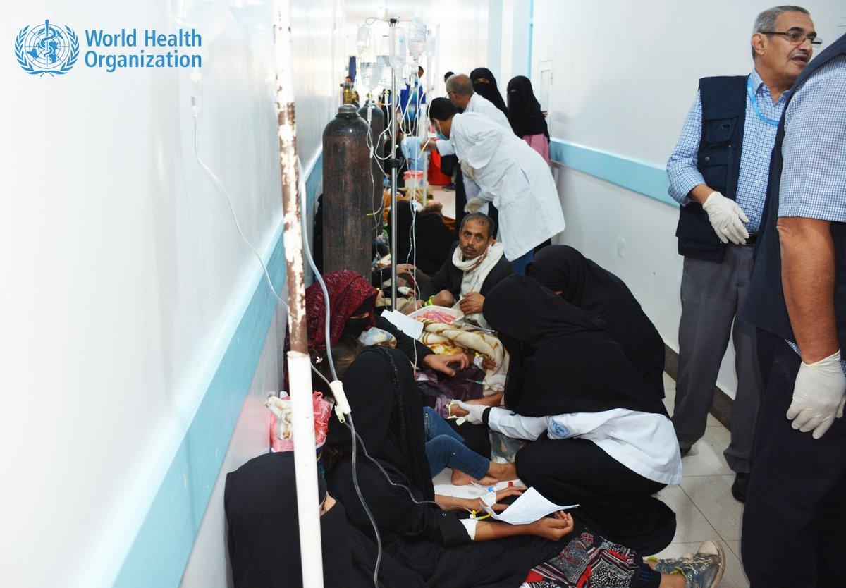 Estado de emergencia en la capital de Yemen por cólera