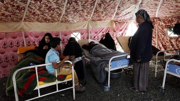 Muertes por cólera aumentan a 656 en Yemen