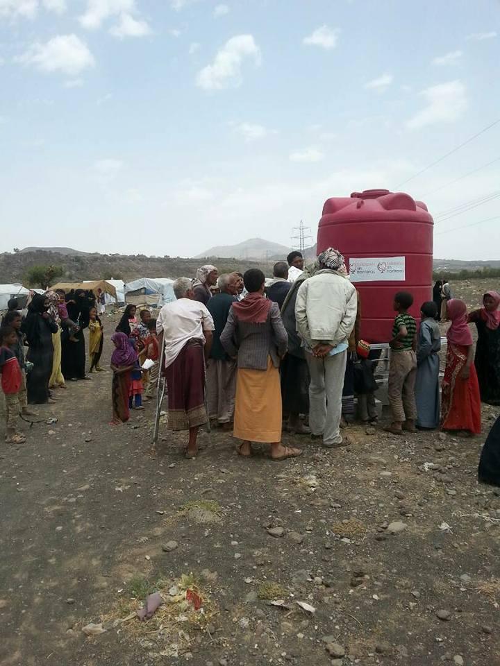 5o depósito de Agua en el campo de Amran!