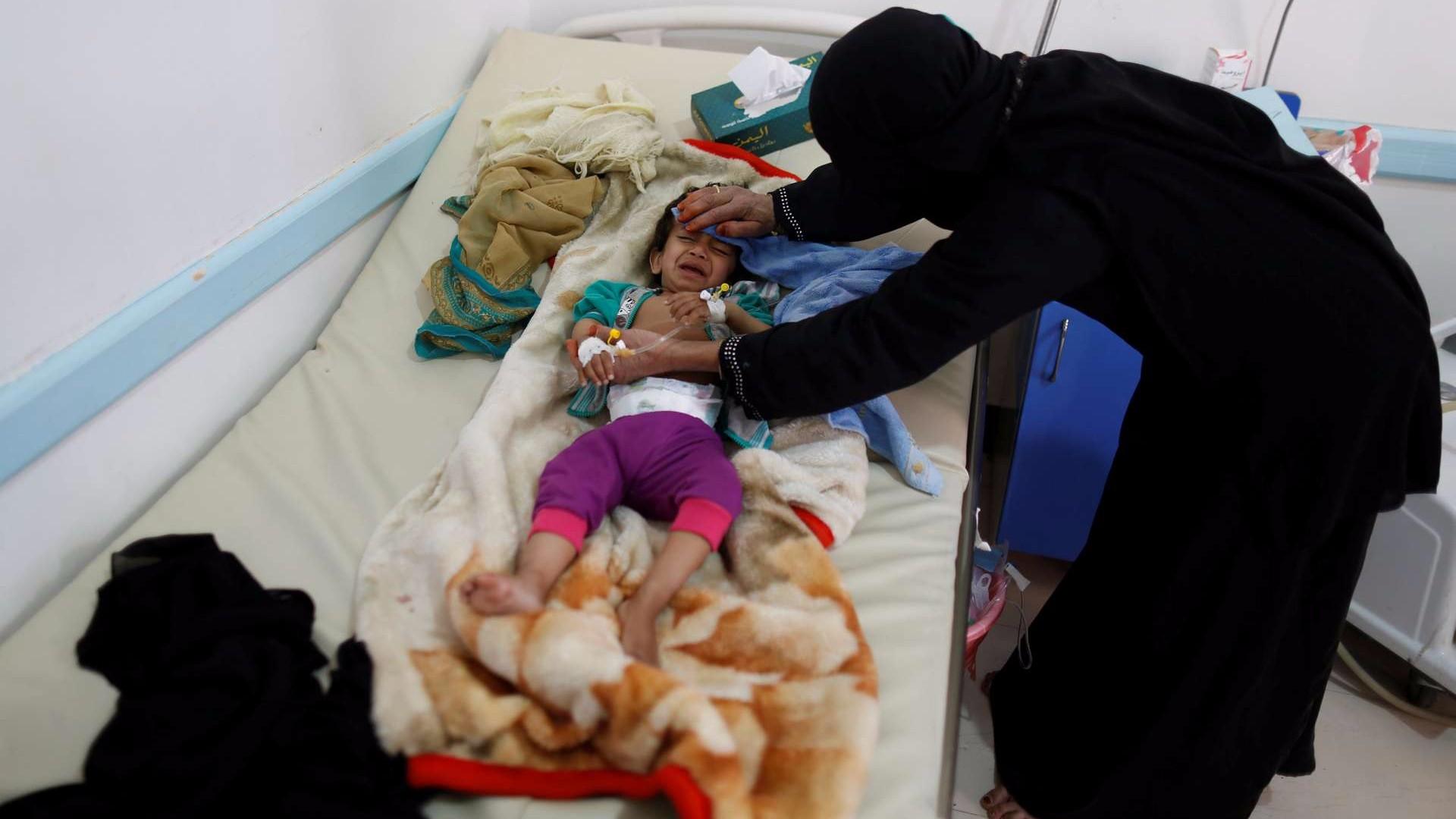 El cólera es el resultado directo del bloqueo a Yemen