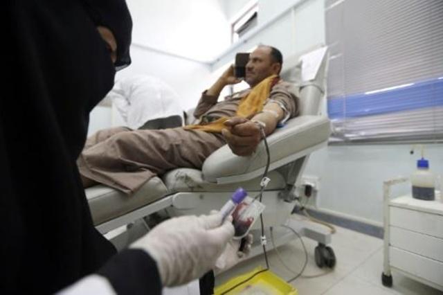 El banco de sangre de Yemen, amenazado de cierre imminente.