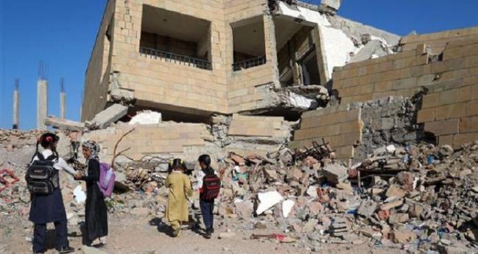 Agresión saudí deja demolidas 1600 escuelas en Yemen