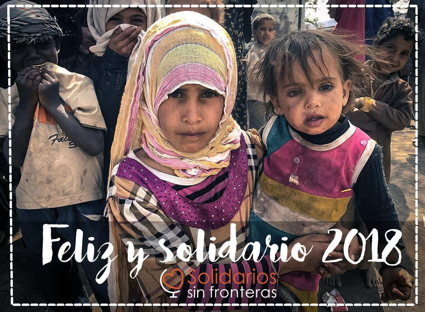 Feliz y solidario 2018!