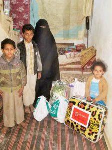 REPARTO FAMILIAS DESPLAZADAS SANA'A: SONIAINAB