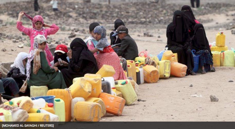 Crisis del suministro de agua en Yemen