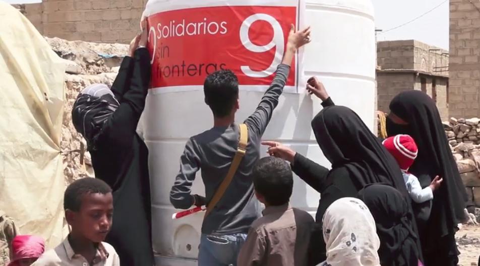 Instalado el 14º depósito de agua en Yemen!