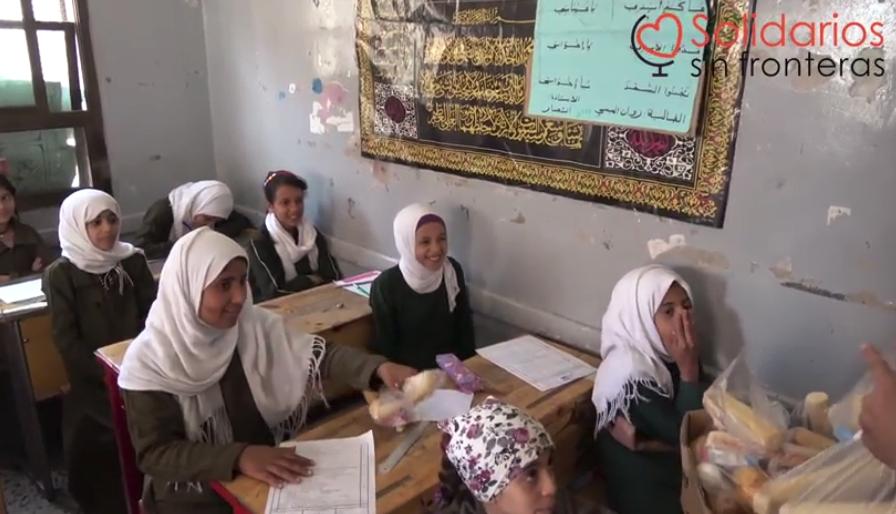 Reanudamos el Proyecto de Desayunos para Proteger y Educar en Yemen