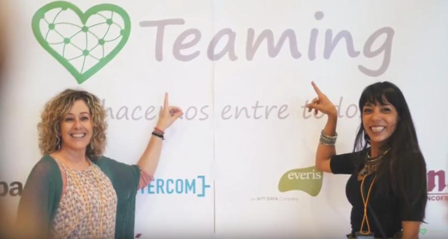 Celebrando los premios Teaming 2017