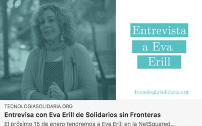 Eva Erill en el Meetup de NetSquared Barcelona