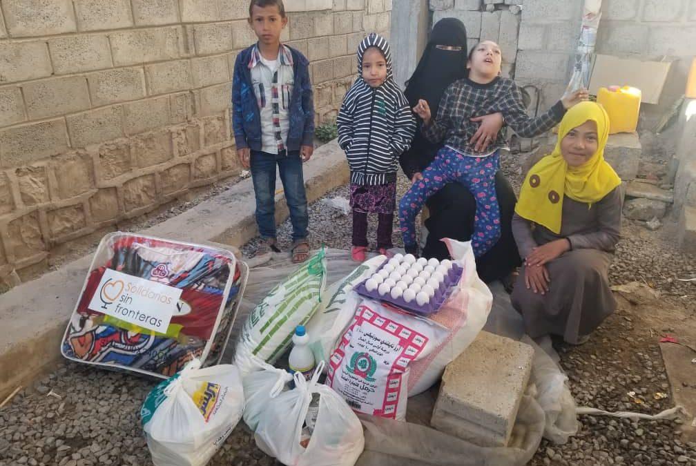 Nuevo reparto familias Sana'a desplazadas (Dares)