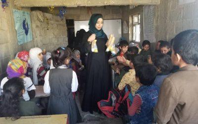 Empezamos con la segunda escuela del proyecto Desayunos para Educar y Proteger en Yemen