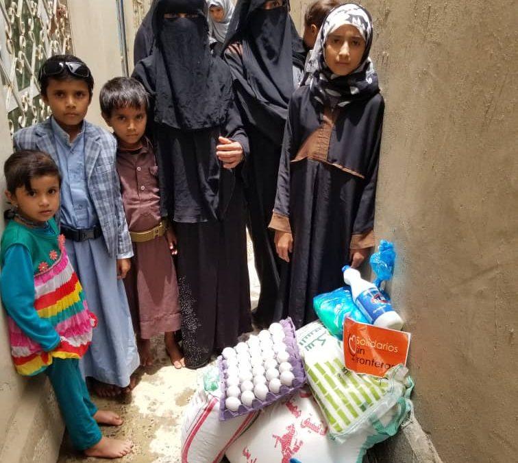 Nuevo reparto alimentación: Bait Hanash, Yemen.