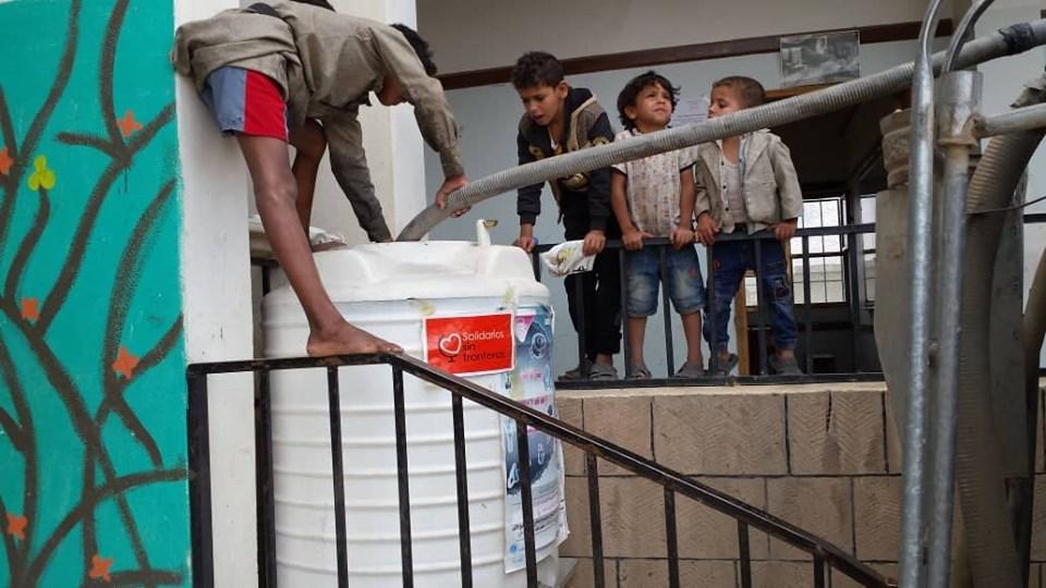 Una 4ª escuela se suma al Proyecto del Agua Potable en Yemen