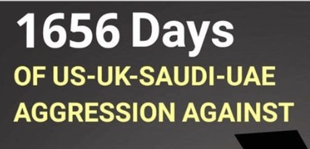 1656 días de GUERRA en Yemen