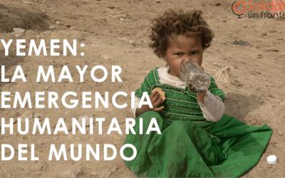 Solidarios sin Fronteras en la Gran Via de Madrid: Gracias Farmacia Rialto!