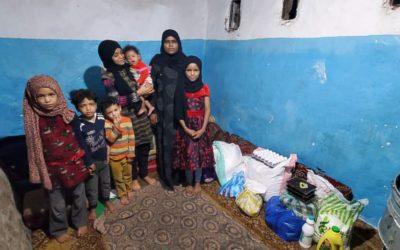 Covid19, hambre, guerra cólera… seguimos alimentando a familias desplazadas en Yemen