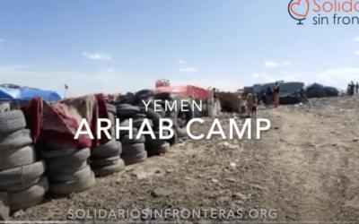 Así (MAL)viven en el Campo de desplazados de Arhab, Yemen