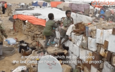 Our work in the Arhab Displaced Camp (English subtitles)